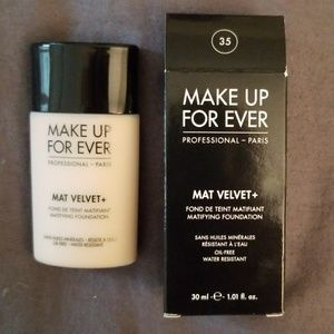 🆕 MUFE Mat Velvet+ Matifying Foundation, 35